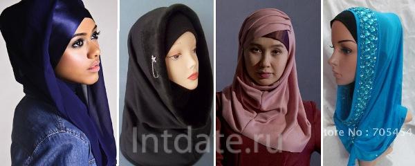 хиджаб хомут
