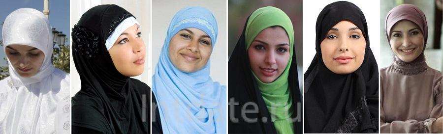 мусульманки кавказа