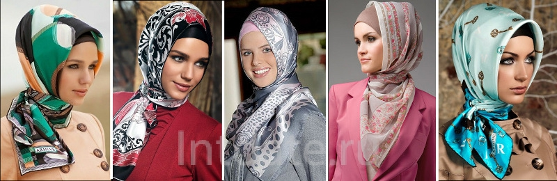 турецкий стиль платка