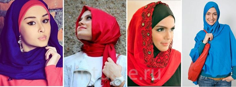яркий хиджаб